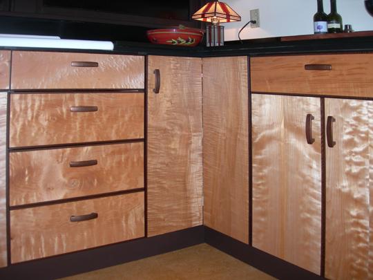 Johns Furniture Cabinets Galley Kitchen
