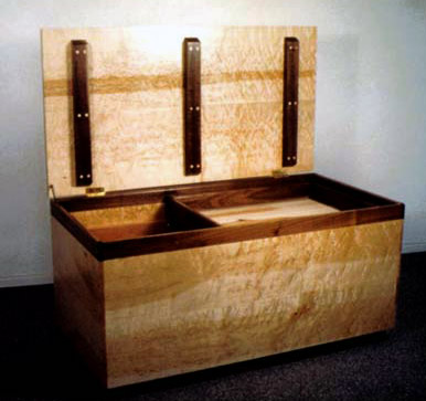 Wooden Chest For Blankets